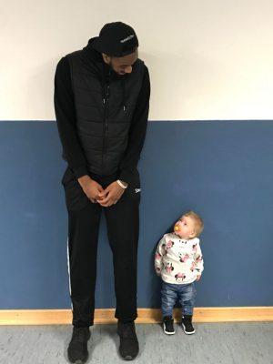Basketball verbindet Groß und Klein ;-)